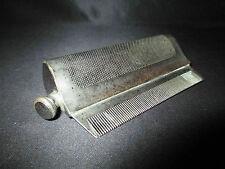 ancien rare peigne à brillantine à système réservoir à difussion début XX ème