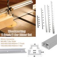 Aluminium T-track/T-Bar Profil Schiene Für Holzbearbeitung Frästisch Werkzeug