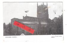 1905 Strathern Postmark on Strathern Church pc N Bottesford Melton Mowbray
