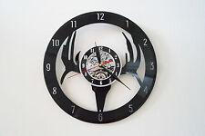 Deer Skull Design vinyl record wall clock bedroom home art playroom office shop