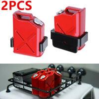2PCS Rock Crawler Gas Cans Fuel Tank For 1:10 RC Rock Crawler Car Accessories