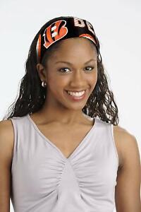 Cincinnati Bengals Jersey Fanband Headband NFL Women Ladies Team Apparel