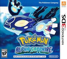 POKEMON ALPHA SAPPHIRE (NINTENDO 3DS) w/ ALL 721 UNLOCKED + EON TICKET EVENT