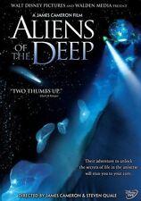 Disney James Cameron Deep Sea Ocean Life Documentary Aliens of the Deep on DVD
