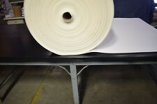 "White Foam Closed Cell 1/8"" High Density Auto Crafts Upholstery 60""W Volara BTY"
