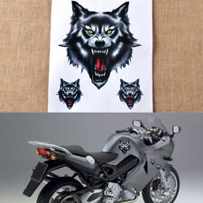 Wolf Head Decal Vinyl Funny Sticker for Motorcycle Motorbike Car Truck Helmet