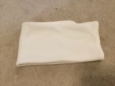 New listing Vintage Carters White Stretchy Thermal Waffle Weave Cotton Baby Blanket