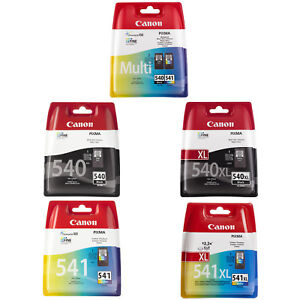 Canon 540/541 & 540XL/541XL Noir & Tricolour Cartouche d'encre pour Pixma MG2150