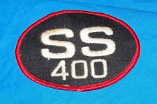 SS 400 Chevy Patch Cap Hat Jacket Coat Hotrod Chevrolet Old Vintage Dealer SBC