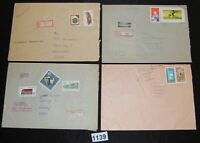 Germany DDR cover collection lot of 14 larger mostly registered [FD1139]