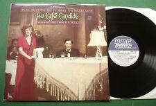 AU CAFE Candide Angela Richards avec Ken Moule BBC série armée secrète Rec 412 LP