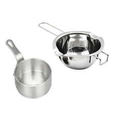 Non-Stick Mini Saucepan Cooking Pan Pot Sauce Serving Pan + Double Boiler