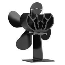 Wood Heater Eco Fan Stove Fireplace Fire Heat Powered Thermoelectric Ecofan HS