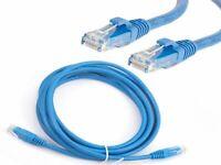 RJ45 Cat6 Network Cable Ethernet Snagless LAN UTP LSOH LSZH Patch Lead 10m blue