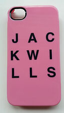New Jack Wills FERMORE PHONE CASE FOR iPHONE 4 Pink