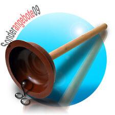 Pümpel Saugglocke Abflußreiniger Gummistampfer WC Ausgussreiniger Pömpel 140 mm