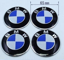 4pcs/lot  65MM Car Emblem Wheel Center Hub Cap Emblems Badge Stickers For BMW