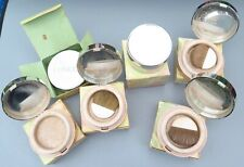Bundle of 6 Empty Clinique Powder Make-Up Containers, some with brushes.