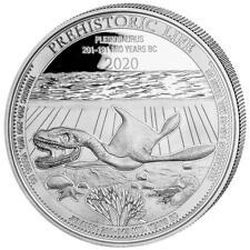 CONGO 20 Francs Argent 1 Once Vie Préhistorique PLESIOSAUR  2020