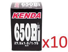 """10x Kenda 650B 27.5"""" PRESTA MTB Tube 27.5x1.5/1.75 F/V 36mm Valve"""