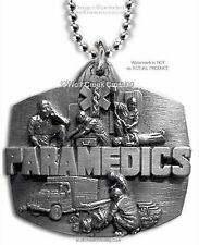 PARAMEDIC STAR OF LIFE PENDANT EMT NECKLACE EMERGENCY RESCUE MEDICAL - FREE SHIP