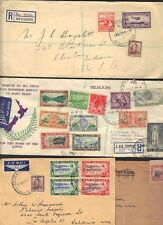 New Zealand Cook Islands Niue 1937-48 Collection Of 7 Covers Including 4 Peace