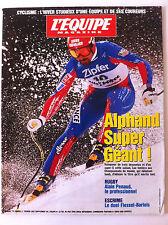 L'Equipe Magazine du 1/02/1997; Alphand super Géant/ Alain Pernaud/ Flessel-Barl
