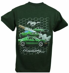 FORD MUSTANG BULLITT T-SHIRT BRAND NEW SOLD EXCLUSIVELY HERE LICENSED BY FORD