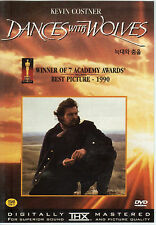 Dances with Wolves (2 Discs) Kevin Costner (NEW) DVD - Oscar winning Film !!