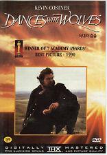 Dances with Wolves (2 Discs) Kevin Costner (NEW) DVD - Oscar winning Film !!