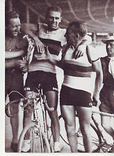 photo presse cyclisme VAN STEENBERGEN et KINT a TOULOUSE. TOUR DE FRANCE 1949