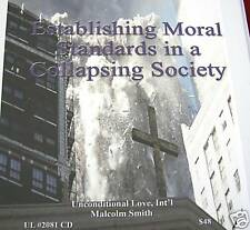 Malcolm Smith -Establishing Moral Standards  6 hrs cds