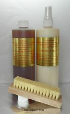 16 oz Leatherique Prestine Clean Rejuvenator Pair Leather Conditioner Free Ship