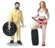 Motorhead Miniatures 1:18 Scale Andie & Gary Figurines