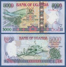 UGANDA  5000 Shillings 2005  UNC  P. 44 b