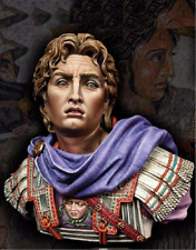 New Unassembled 1/ 10 Alexander the Great The Macedonian Empire bust Figure Resi