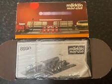 Marklin spur z scale/gauge Diesel Fuel Station & Accessories Kit. Unbuilt.