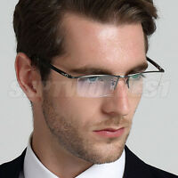 53aa0fb5bc8 Men s Titanium Alloy Reading Glasses UV400 Coating Lens Reader +0.00 ~+5.00