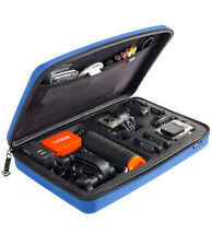 SP POV GoPro Hero HD 1 2 & 3 Large Protective Storage Travel Carry Blue Case