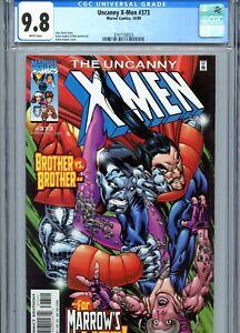 Uncanny X-Men #373 CGC 9.8 White Pages Marvel Comics 1999