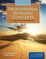 Professional Nursing Concepts Competencies for Quality Leadership Finkelman