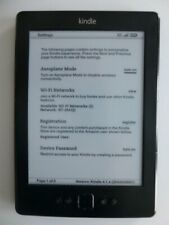 Amazon Kindle 5th generation ereader, case & charger bundle