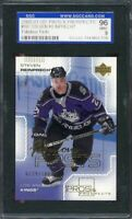 2000-01 ud pros & prospects #107 STEVEN REINPRECHT kings rookie card SGC (9) 96