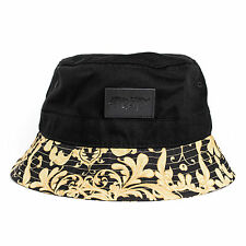 Phoenix Legendary Bucket Hat Hat Gold Black Cap Floral Bob Fisherhat Fishing Cap