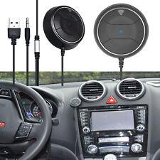 5V Bluetooth V4.0 NFC Hands-Free Car AUX Kit For Smartphone Tablet MP3/MP4