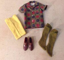 Vintage 1960'S Ken #783 Sports Shorts Clothing Ensemble - Complete, Pristine