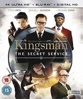 Kingsman: The Secret Service [4K UHD + Blu-ray + Digital HD] [2015] [DVD]