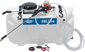 QUAD  Sprayer 12 volt- BROADCAST and Spot spray - FREE POST-CARDPAY- WATCH VIDEO