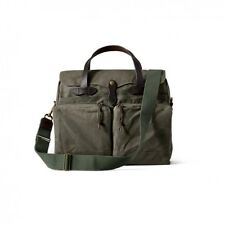 Filson 24-Hour Tin Briefcase 70140  Laptop Otter Green 11070140