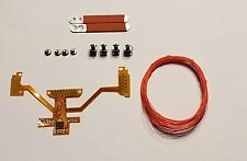 PS4 DS4 1U MOD KIT PROGRAMMABLE REMAP BOARD W/ 2 RED PADDLES DIY BUTTON MAPS